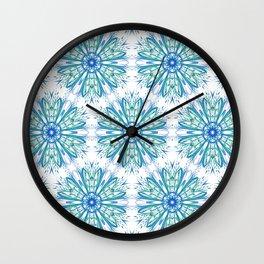 Snowflake Ornament Wall Clock