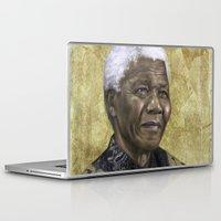 mandela Laptop & iPad Skins featuring Mandela by SaraGolish