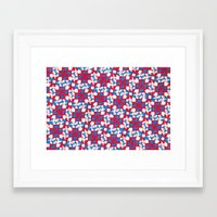 patriotic Framed Art Prints featuring Patriotic  by Meaghan Monroe