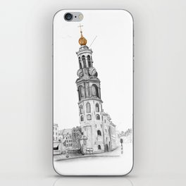 Mint Tower Amsterdam iPhone Skin