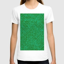 Scratched Green T-shirt