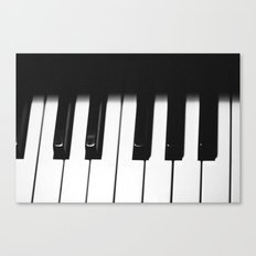 Piano Part 1 Canvas Print