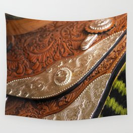 Saddle up Wall Tapestry
