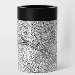 Paris Map Line Can Cooler