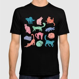 Pastel Cats T-shirt