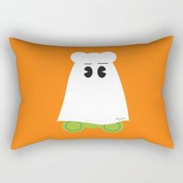 Ghost Gum Bear, Ours en guimauve fantôme - Halloween party Rectangular Pillow