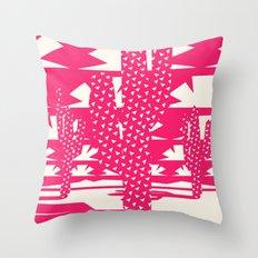 Red Dessert Throw Pillow