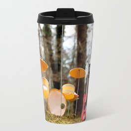 If a band plays in the forest ...... Travel Mug