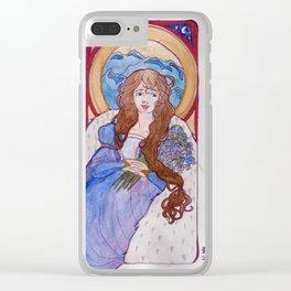 Niamh Nouveau Clear iPhone Case
