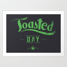 Toasted Art Print