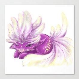 Cute little Fincy fox Canvas Print