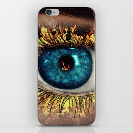 Eye in Flames iPhone Skin