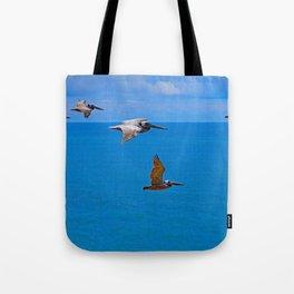 Pelican Flyby Tote Bag
