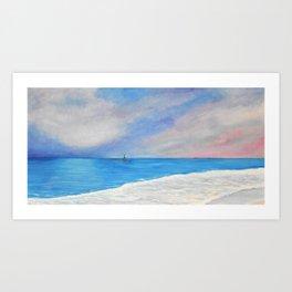Cottesloe Dreaming Art Print