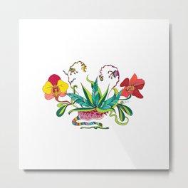 """Orchids Galactic"" Metal Print"