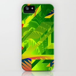 Great Green Frac 1 iPhone Case