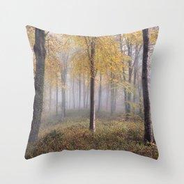 Autumal Hooke Throw Pillow