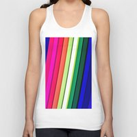 manchester Tank Tops featuring mANCHESTER pRIDE 323 by ANGELA SEAGER - Photo-based Artist