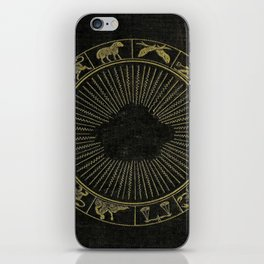 Astrology Book Cover iPhone Skin