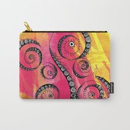 Sunset Swirls Carry-All Pouch