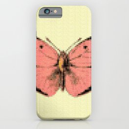 Butterfly Pink iPhone Case