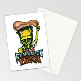 Frankenstein Pizza Stationery Cards