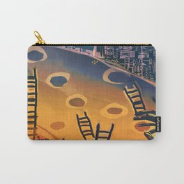 Time through Time, from Caves to Skyscraper, from Organic to Geometric Carry-All Pouch