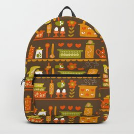 Lets Cook at Home Tonight Backpack