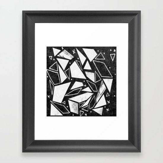 Geometrics III Framed Art Print