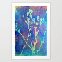 Diazo Series — Thistle Art Print