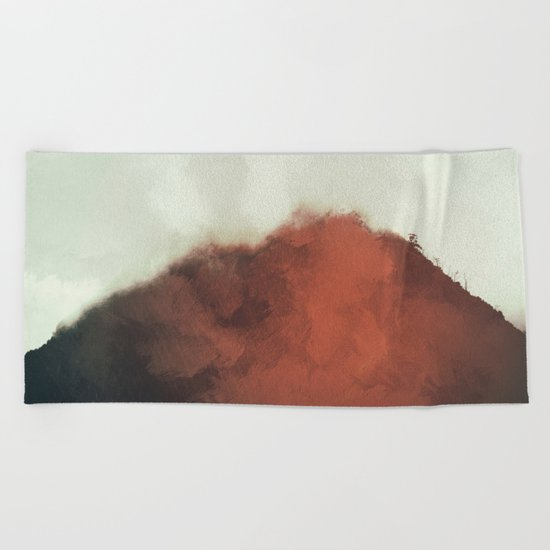Red Rock Beach Towel