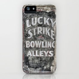 Lucky Strike iPhone Case