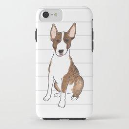 Bull Terrier Life - Watercolor Bull Terrier iPhone Case