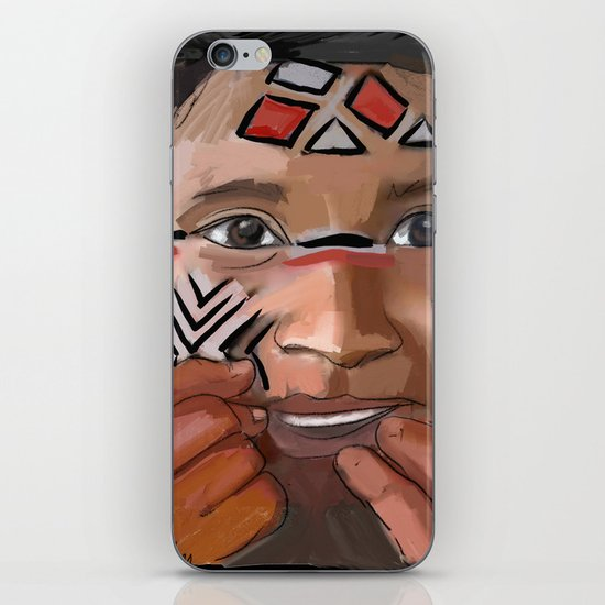 Karaja girl iPhone & iPod Skin