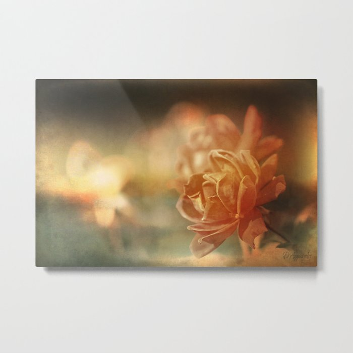 Sometimes We Touch Metal Print