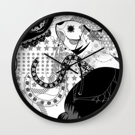 fancy deep‐sea fish! Wall Clock
