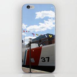 Coast Guard 37 Baltimore Harbor iPhone Skin