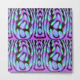PurpleBlue Civilization Metal Print