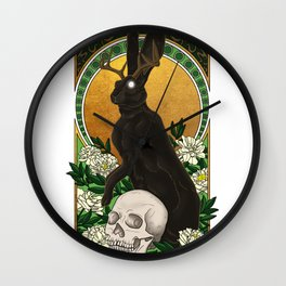 Guardian of Light and Death Wall Clock