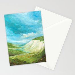 White Cliffs Landscape Kent UK Stationery Cards