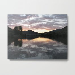 Sunset On The Douro River Metal Print