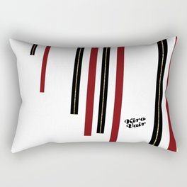 Christmas Red Minimalism #buyart #kirovair #design #minimalism #christmas #holidays Rectangular Pillow