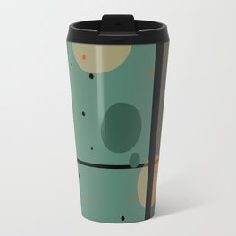 The Girl and the Moon (Pattern) Travel Mug