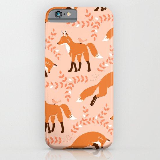 Socks the Fox - Dawn iPhone & iPod Case