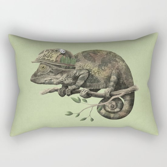 Born to Hide - Color Option Rectangular Pillow