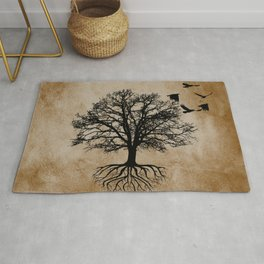 Tree of Life - Crow Tree A823 Rug