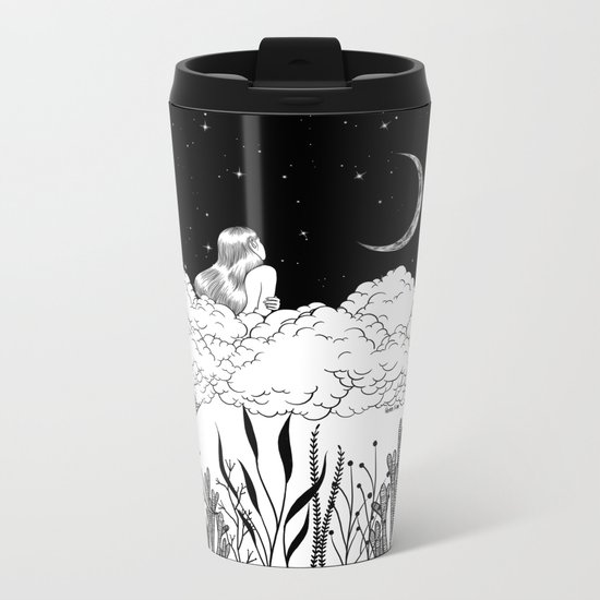 Moon River Metal Travel Mug