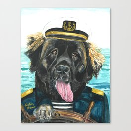 Captain Chewie Canvas Print