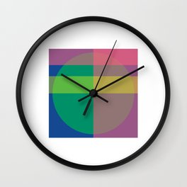 COMBINATION 1 Wall Clock