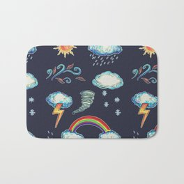 Blame It On The Weather-man Bath Mat